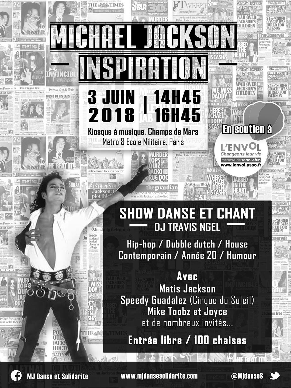 Show Michael Jackson Inspiration 3 juin 2018