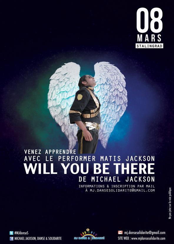 """Cours de danse sur """"Will you be there"""" avec Matis Jackson"""