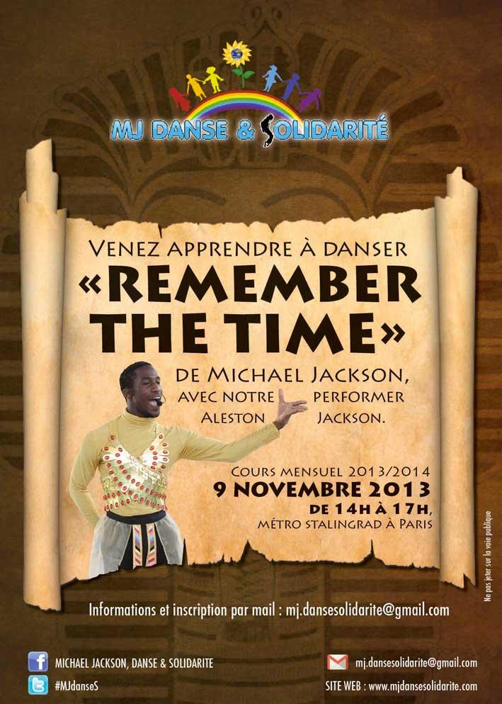 """Cours de danse """"Remember the time"""""""