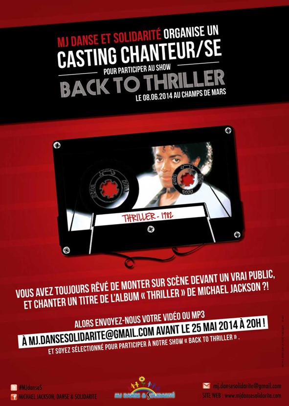 GRAND CASTING CHANTEURS/SES POUR SCÈNE LE 8 JUIN 2014