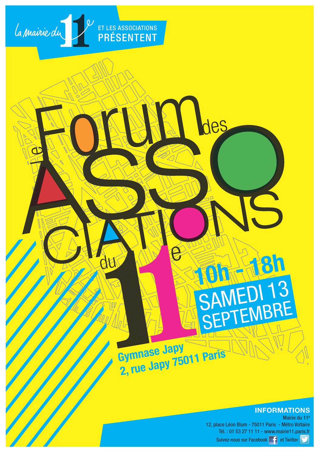 Forum des associations paris 11e
