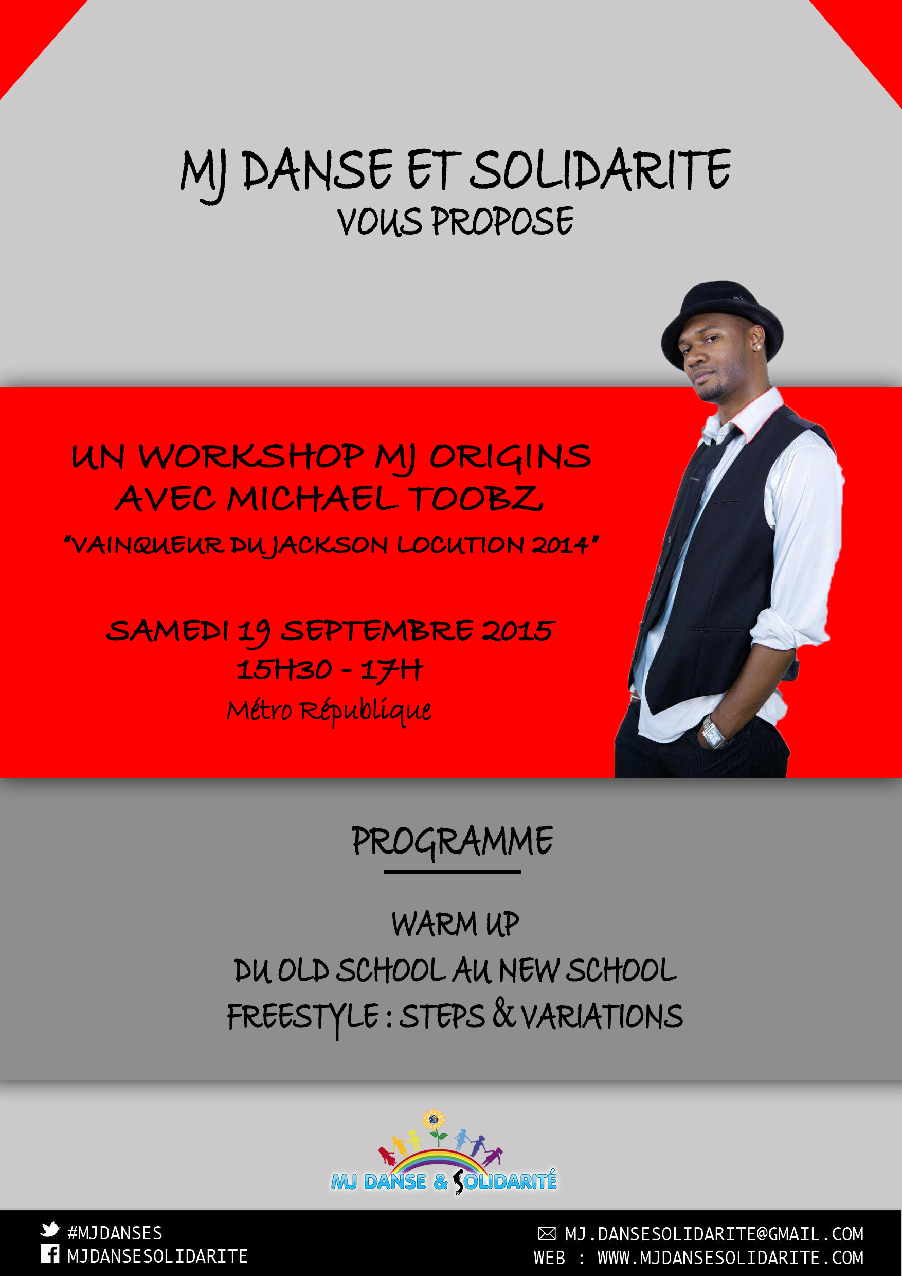WORKSHOP MJ ORIGINS AVEC MIKE TOOBZ