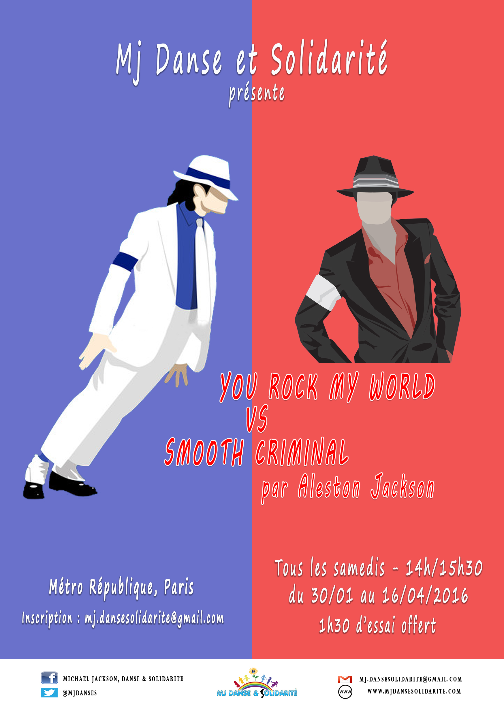 Smooth criminal VS You rock my world