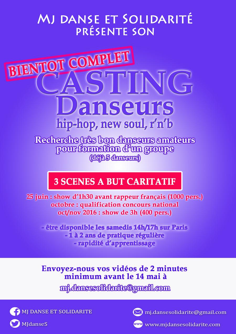 Casting danseurs hip-hop